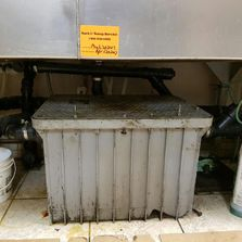grease trap container